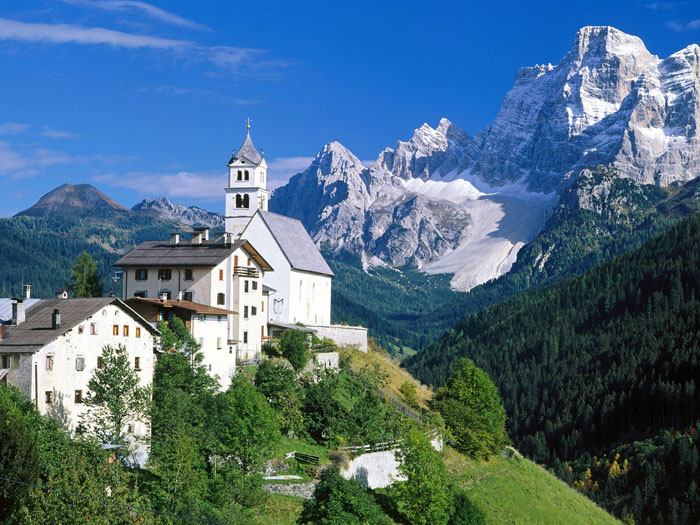 The Dolomites Alps Italy